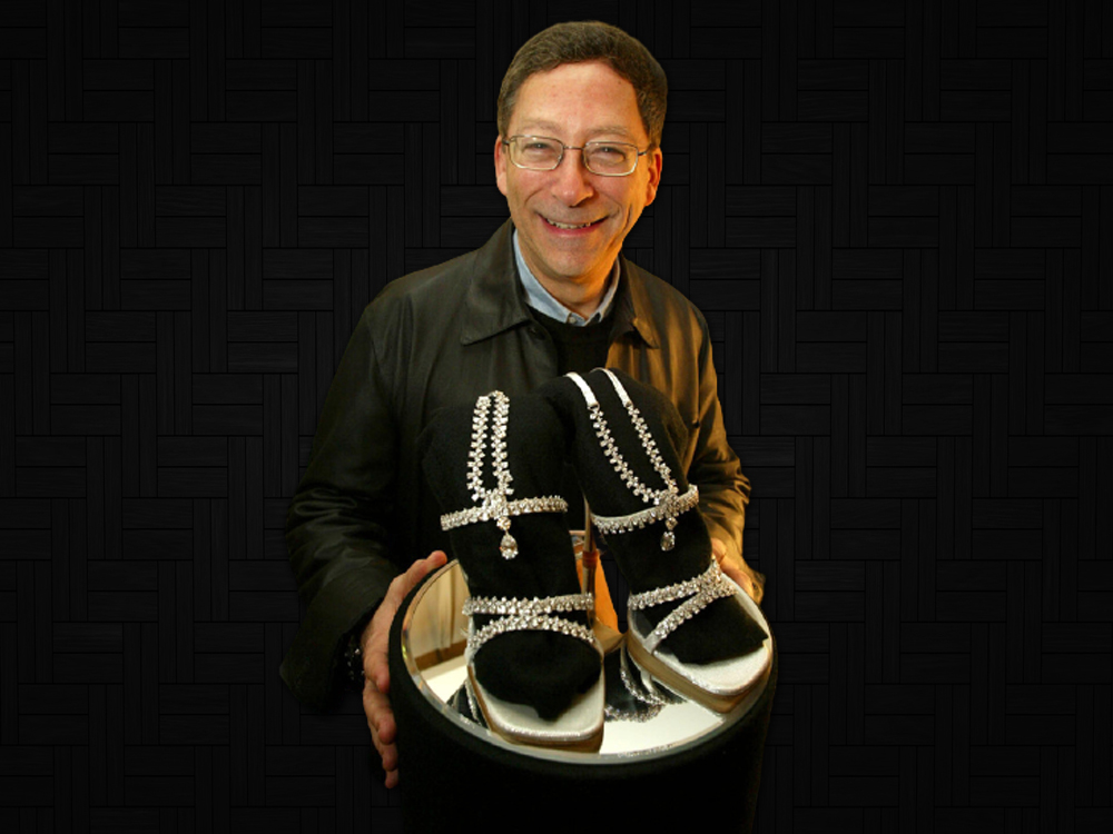 1,090,000 - Stuart Weitzman Platinum Guild Stiletto