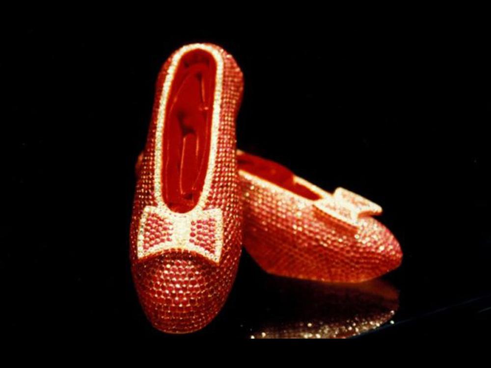 3,000,000 - Harry Winston Ruby Slippers