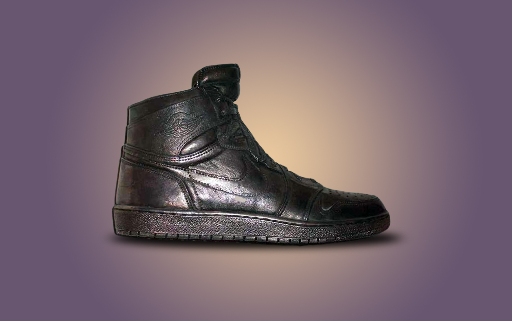 Air Jordan Silver Shoes - $60,000   GODLY SOLES